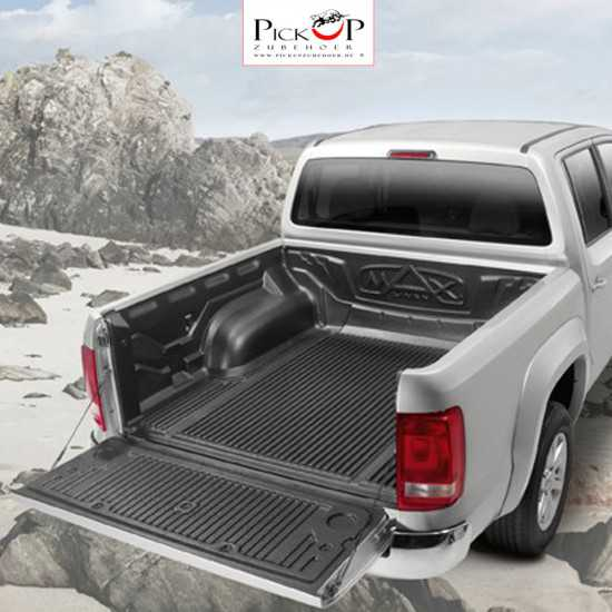 Lower edge cargo compartment tub for VW AMAROK double cabin