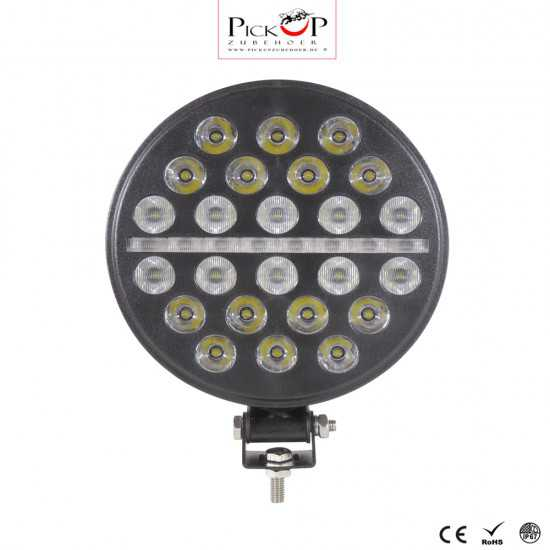 LED working lights with daytime running lights 72W (four different lighting functions)