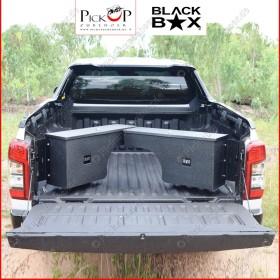 BLACKBOX swivel storage box for Mitsubishi L200 pickups