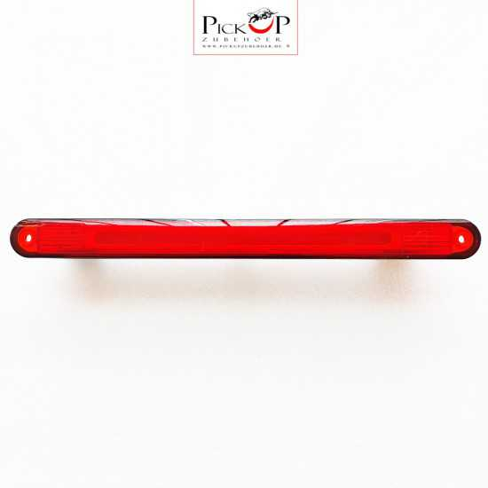 LED third brake light for hardtops, cargo compartment covers and roll bars
