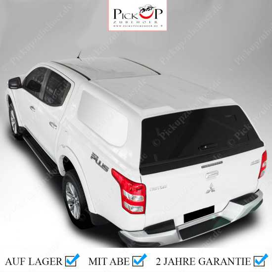 PRO COMMERCIAL Hardtop for Mitsubishi L200 / Fiat Fullback Y.O.M. 2016-2021
