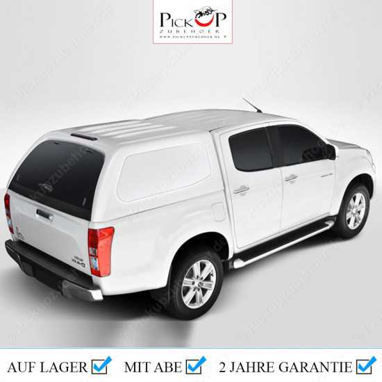 PRO COMMERCIAL Hardtop for Isuzu D-Max Double Cabin Pickup