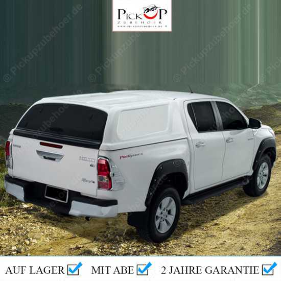PRO COMMERCIAL Hardtop for TOYOTA HILUX Pickup Y.O.M. 2016+