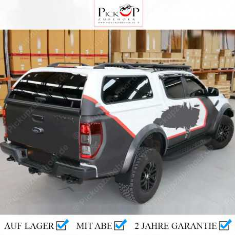 PRO PLUS Hardtop for FORD RANGER Double Cabin Pickup