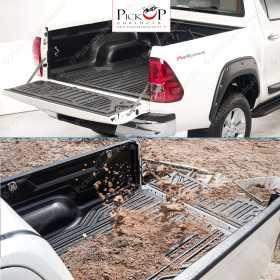 MAXLINER cargo space tray for Nissan Navara King Cab / Renault Alaskan extra cabin Y.O.M. 2016+