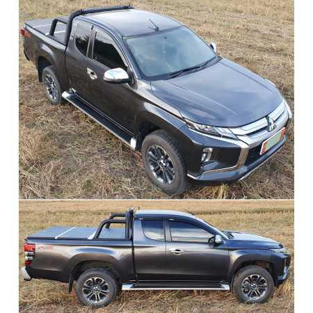 PROTECT faltbare Laderaumabdeckung für Mitsubishi L200 Club Cab